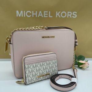 Michael Kors EW Crossbody Bag & Card Case